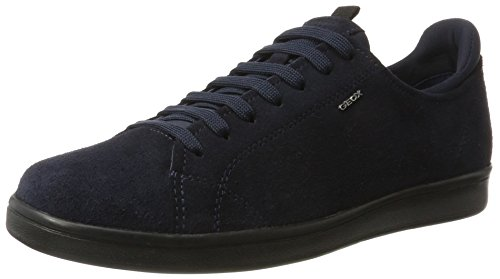 Geox Hombres Warrens 8 Fashion Sneaker Navy