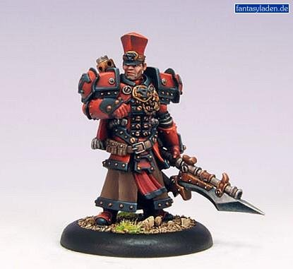 Privateer Press - Warmachine - Khador Kommandant Irusk (2010) Model Kit 3