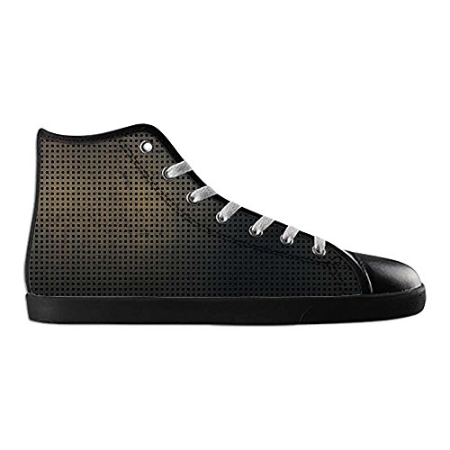 Dalliy Metal Womens Canvas shoes Schuhe Lace-up High-top Footwear Sneakers C