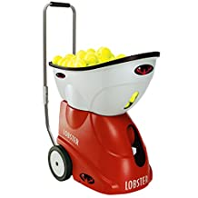 Lobster Sports EL05LE Elite Grand V Limited Edition Portable Tennis Ball Machine (21x14x20-Inch)