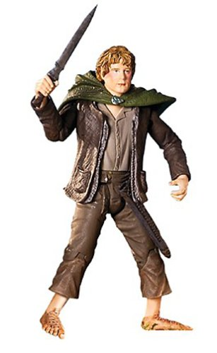 Lord of the Rings Return of the King 11 Inch Rotocast Action Figure Sam Gamgee with Highly Detailed Weapons