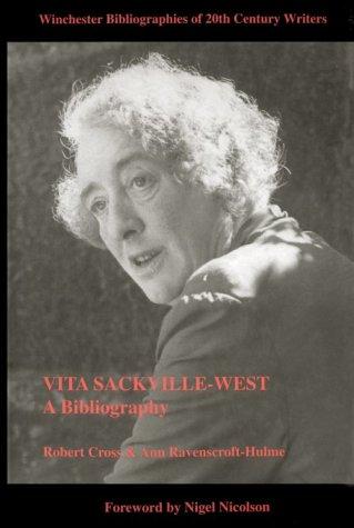 Vita Sackville West  A Bibliography