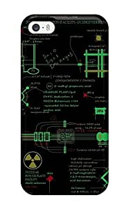 Anti-scratch And Shatterproof Nuclear Plant Phone Case For Iphone 5/5s/ High Quality Tpu Case