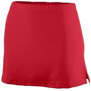 Augusta Sportswear Ladies poly/spandex team skort - RED - L