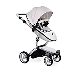 """Mima Xari is designed for functionality and innovation. The patented mima """"carrycot inside"""" system means that Xari can be used either as a carrycot or as a stroller. When not in use, the carrycot is stored inside the seat unit itself. Aided b..."""