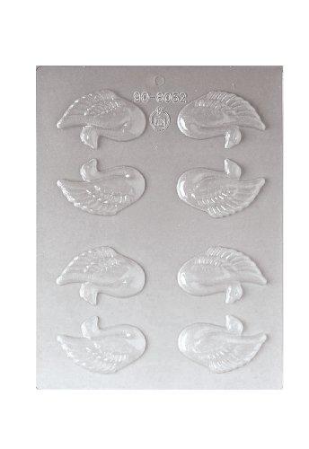 Paderno World Cuisine 8 Imprint 2-1/2-Inch Polypropylene Chocolate Mold, Love Bird ()