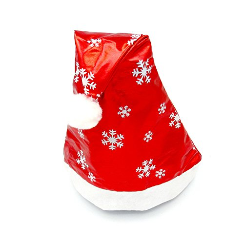 CHIY Christmas Party Santa Hat Red And White Cap for Santa Claus Costume New Multi-Color Optional Promotional Hat