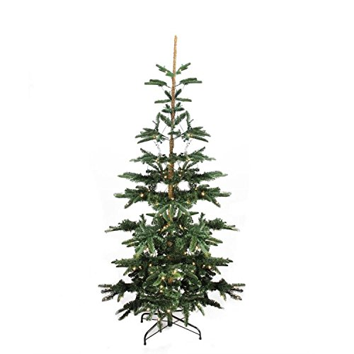 (Northlight 9' Pre-Lit Layered Noble Fir Artificial Christmas Tree - Warm Clear LED Lights)