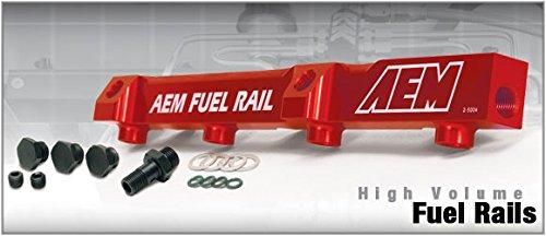 01 Aem Fuel Rail - AEM High Volume Fuel Rails Honda Prelude incl S Si VTEC F22, H23, H22 92-01