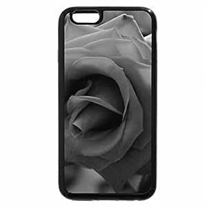 iPhone 6S Plus Case, iPhone 6 Plus Case (Black & White) - rose?¡è?¡è