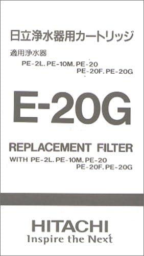 Purificador de agua de HITACHI medio filtrante E-20G (Jap?n importaci?n / El paquete y el manual est?n escritos en ...