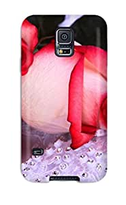 Top Quality Rugged Flower Case Cover For Galaxy S5