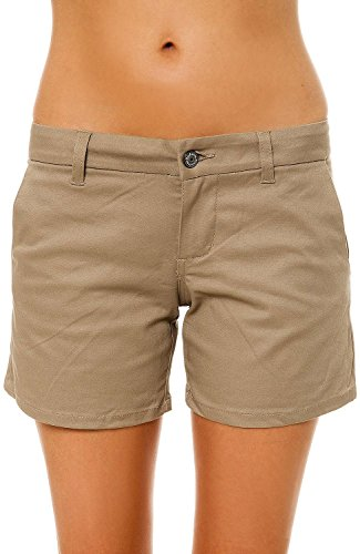 Dickies Girl Women's The 4pkt Stretch Twill 5 Short 1 Beige
