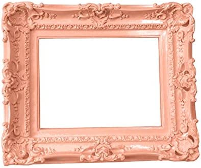 Amazon Com 12x16 Shabby Chic Frame Decorative Baroque Wall Mirror Frame Wedding Peach Picture Frames Ornate Frame For Canvas
