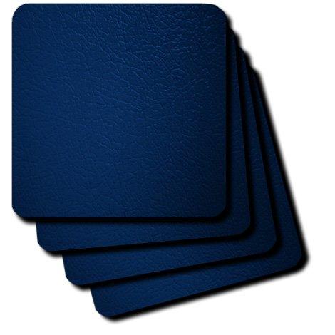 3dRose cst 100328 1 Faux Leather Coasters