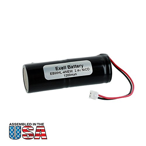 (Exell 2.4V Razor Battery fits Wahl 93151 93151-001 Eclipse Clippers Replaces WHL-4NEW)