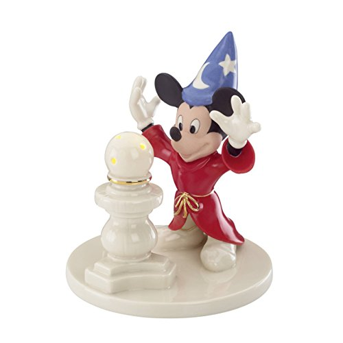 Disney's Mickey Sorcerer Lit Figurine by Lenox