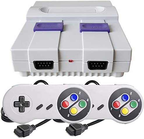 Retro Classic Game Console,Built-in 400 Games Super Mini Video Game with 2 Classic Controllers.