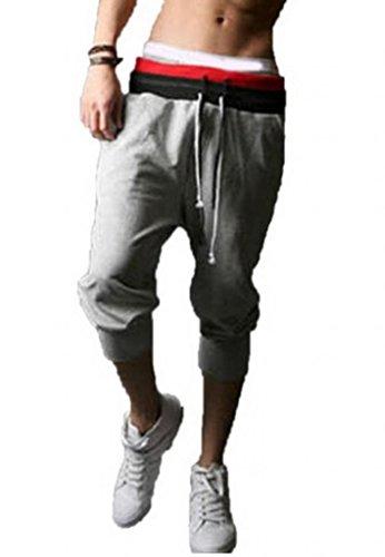 Fashion Cotton Calf length Jogging Trousers