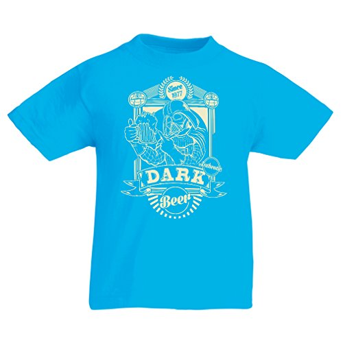 lepni.me Funny t Shirts For Kids Dark Beer (3-4 Years Light Blue Multi Color) (Halloween Groupon Code)
