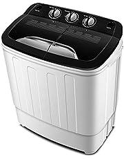 Draagbare wasmachine TG23 - Wasdroogmachine met wasmachine en trommel - Mini wasmachines van Think Gizmos
