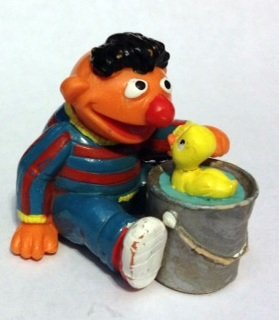 Applause Sesame Street Ernie w/ Rubber Duckie 2