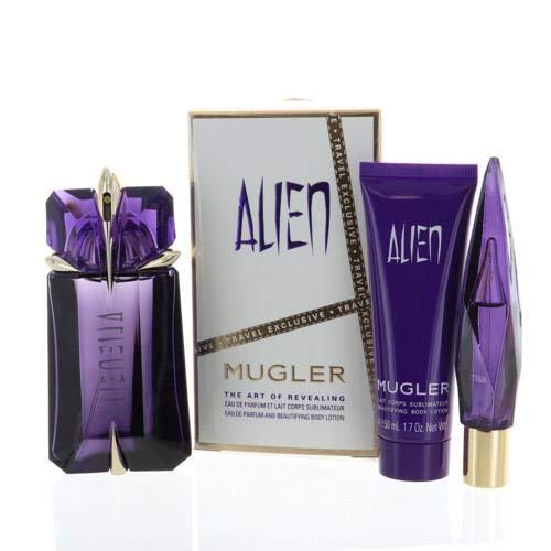 Alien Perfume 3 Piece Gift Set - 2.0 Oz Eau De