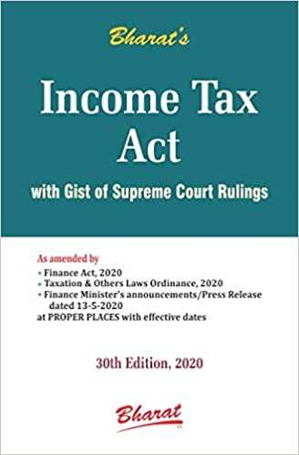 INCOME TAX ACT (Pocket) 2020