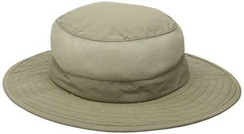 Big Brim Supplex Hat with Mesh Sides by Dorfman Pacific