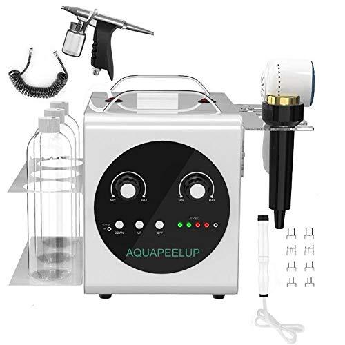 Oxygen Moisturizing (4 in 1 Small Bubbles Vacuum Suction Blackhead Clean Pen, Water Oxygen Moisturizing Sprayer Salon SPA Rejuvenation Skin Firming Beauty Instrument Kit(US Plug))