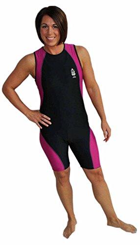 Astek Womens Modest Triathlon Suit Swim Bike Run Trisuit