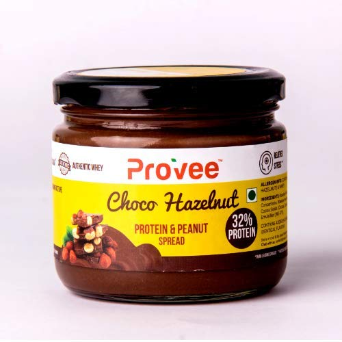 Provee Choco Hazelnut Protein Peanut Butter Spread –270g (High-Protein)