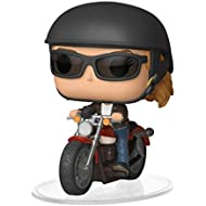 [Sponsored]Funko POP! Ride Marvel: Captain Marvel - Carol Danvers on Motorcycle Toy, Multicolor