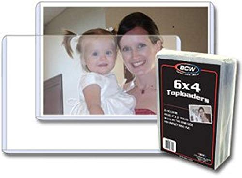 422 6 x 4 Postcard or Photo Rigid Topload Holder (25 Count)