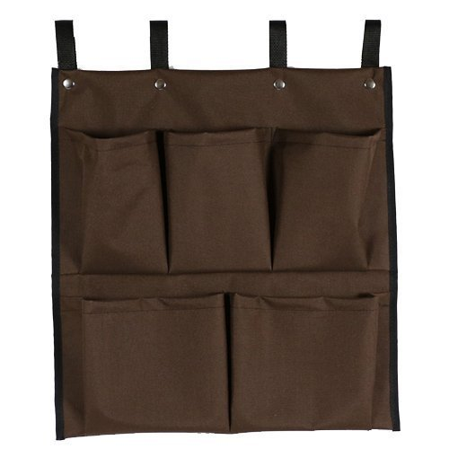 American Supply 5 Pockets Cart Caddy Bag Color Brown