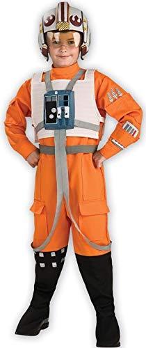 Rubies Star Wars Classic Child's Deluxe X-Wing Pilot Costume, Medium ()