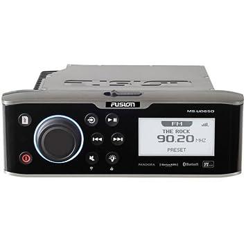 Fusion MS-UD650 Am Fm Sirius Ready Bluetooth