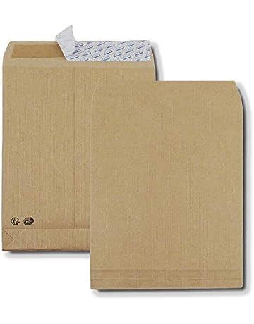 200 plis poches avec fenêtre livraison poches Din c4 229 x 324 x 20 MM blanc