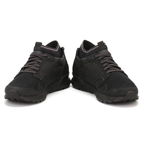 Le Coq Sportif Hombres Triple Negro Omicron Zapatillas