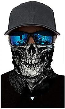 Benkeg-Cool Robot Esqueleto de m/áscara de la bufanda Joker diadema pasamonta/ñas para ciclismo de pesca de esqu/í de la motocicleta AC005