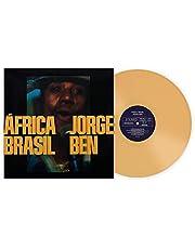 África Brasil - Exclusive Club Edition Yellow 180 Gram Vinyl LP
