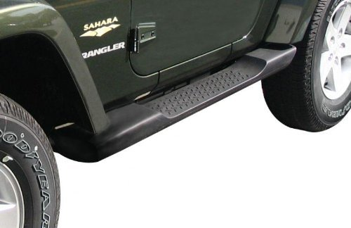 Jeep Wrangler 2 Door Factory Molded Side Steps/Running Boards-OEM