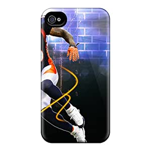 New Cute Funny A Denver Broncos Brandon Marshall Case Cover/ Iphone 4/4s Case Cover