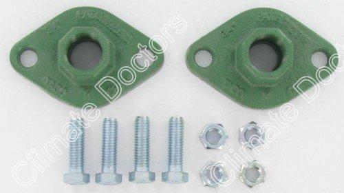 1-1//2 Npt Connection Taco 110-254F Freedom Flange Set for Circulator Pump Cast Iron