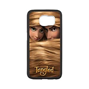 Fayruz- Personalized Protective Hard Textured Rubber Coated Case Cover for Samsung Galaxy S6 - Tangled Princess Rapunzel -S6O1336