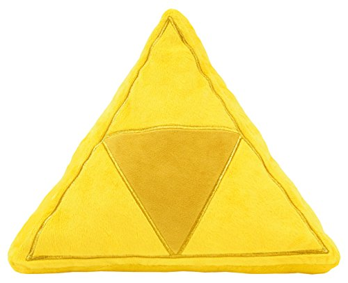 - Little Buddy The Legend of Zelda Stuffed Plush - 1381 - Tri-Force Cushion, 13.5