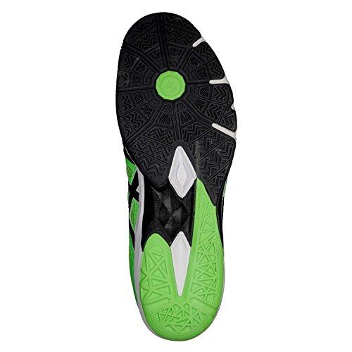 Scarpe black Grey Uomo Gecko Basket Blade Asics 5 Da dark Gel Green z4qgt