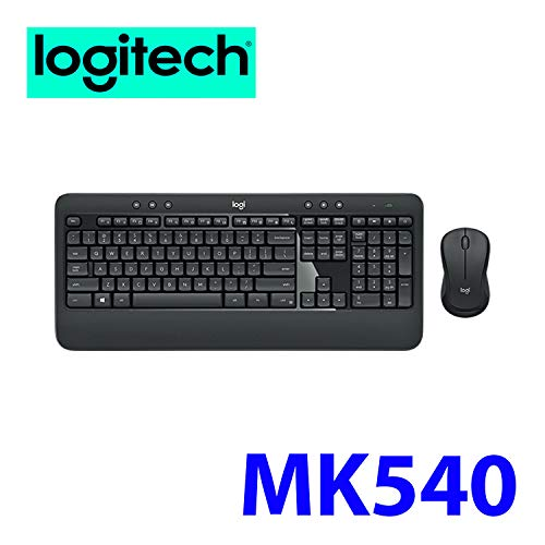 - Logitech MK540 Wireless Mouse and Keyboard Combo for Computers Laptops Bundle (1-Pack)