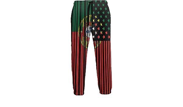 Emild Pantalones de chándal para Hombre con código de Barras USA ...