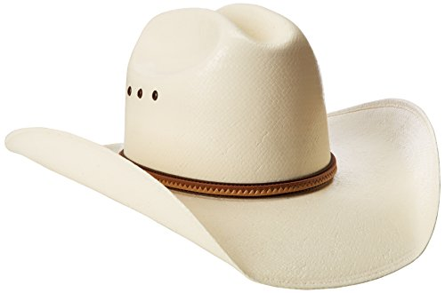 Justin Men's 10X La Grange Hat, Natural, - Justin Men